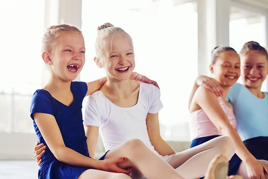 little ballerinas having fun in Matthews